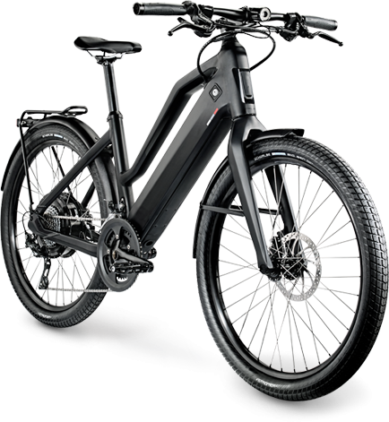 Stromer ST2 Comfort Color: Black