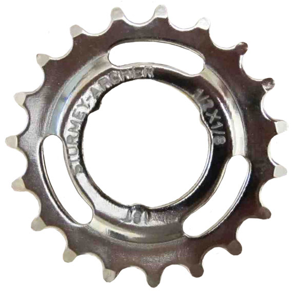Sturmey-Archer 3-Speed Sprocket And Circlip Size: Dished, 1/8-inch