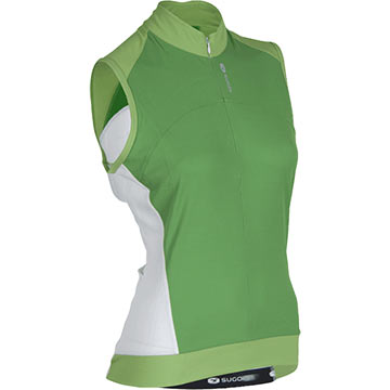 Sugoi Women's Evolution Sleeveless Jersey Color: Apple