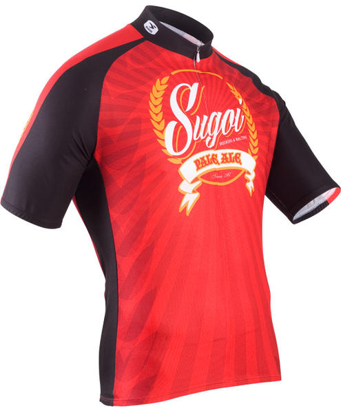 Sugoi Beer Jersey Color: Black