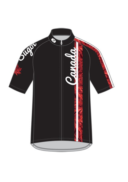 Sugoi Canadian Jersey Color: Black