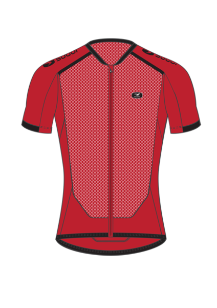 Sugoi Climber`s Jersey Color: Chili Red