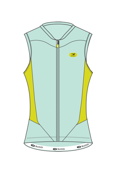 Sugoi Evolution S/L Jersey - Women's Color: Ice Blue