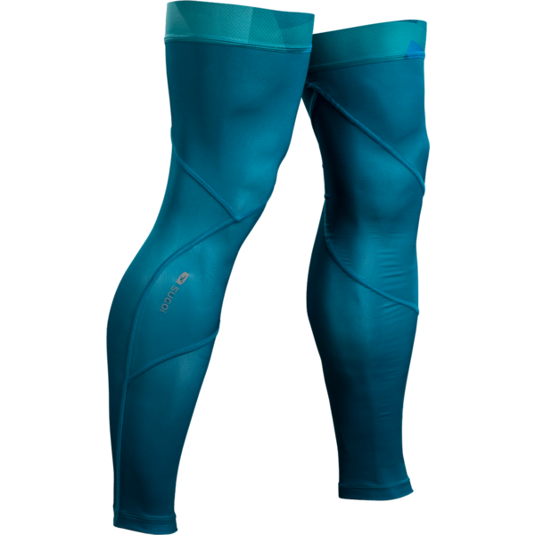Sugoi Leg Cooler Color: Ocean Depth/Mountain Print