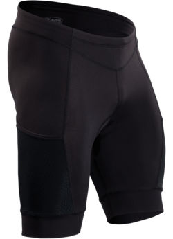 Sugoi Piston 200 Tri Pocket Short Color: Black