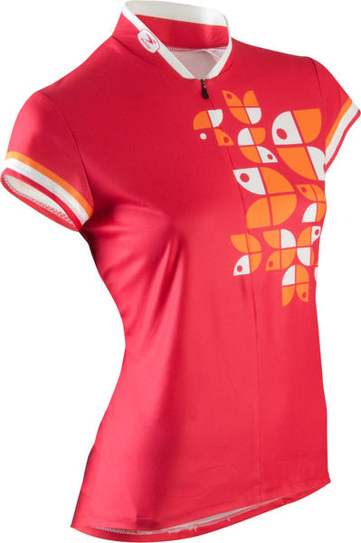 Sugoi Provence Jersey - Women's Color: Rose Red