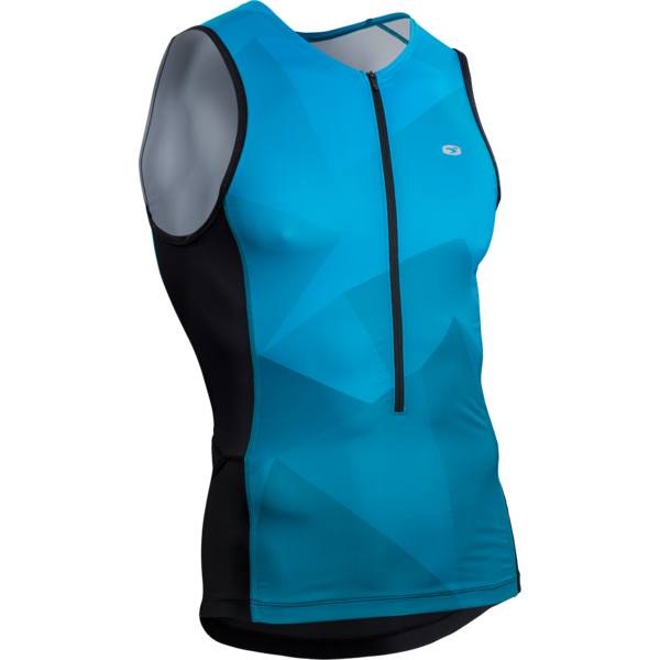 Sugoi RPM Tri Tank Color: Ocean Depth/Mountain Print