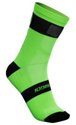 Sugoi RS Crew Sock Color: Berzerker Green