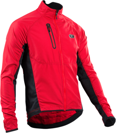 Sugoi RS Zap Jacket Color: Chili Red