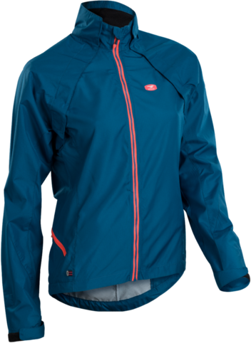 Sugoi Versa Evo Jacket Color: Baltic Blue Blue