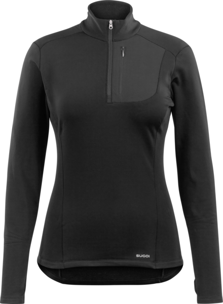Sugoi Women's Midzero Zip Color: Black