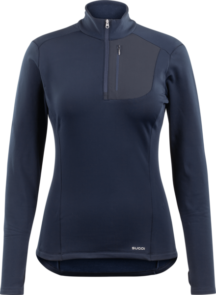 Sugoi Midzero Zip - Women's Color: Deep Navy
