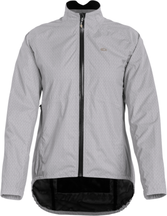 Sugoi Women's Zap Bike Jacket Color: Light Grey Zap