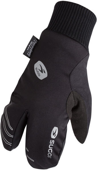 Sugoi Zero Lobster Gloves Color: Black