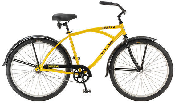 Sun Bicycles Atlas Color: Yellow