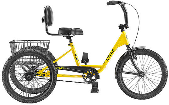 Sun Bicycles Atlas Transit SD Color: Safety Yellow