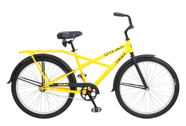 Sun Bicycles Atlas X-Type Color: Safety Yellow