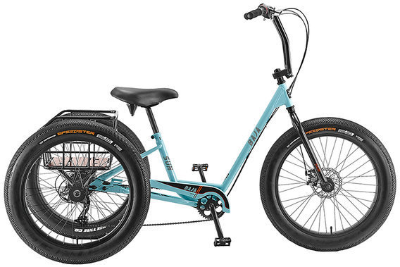 Sun Bicycles Baja Trike Color: Aqua Gloss