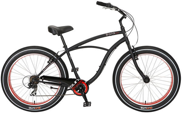 Sun Bicycles Baja Cruz 7 Color: Matte Black