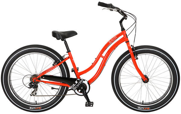 Sun Bicycles Baja Cruz 7 - Women's Color: Red