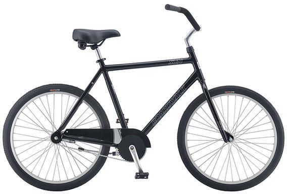 Sun Bicycles Boardwalk Color: Gloss Black
