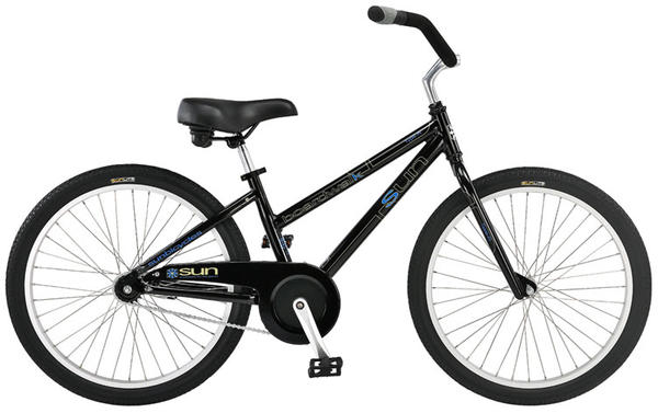 Sun Bicycles Boardwalk Type-R (24-inch wheels) Color: Gloss Black