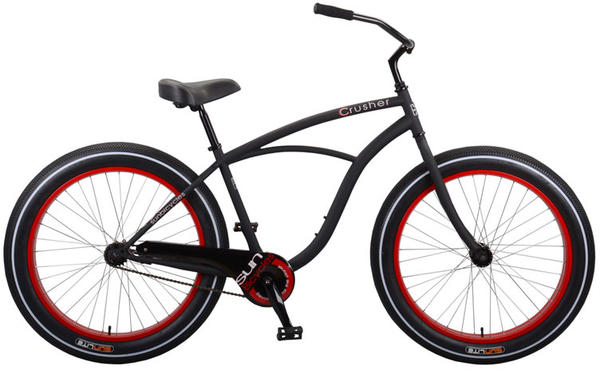 Sun Bicycles Crusher CB Color: Matte Black