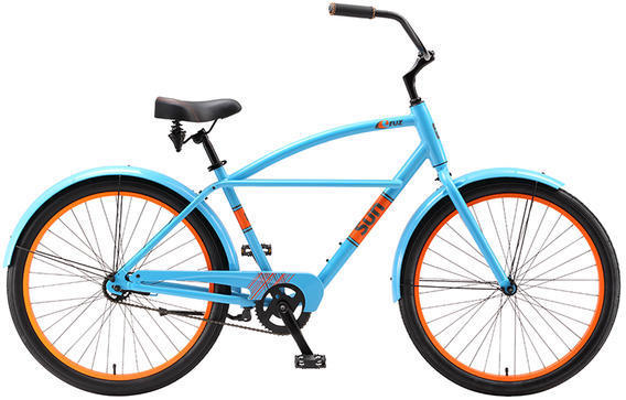 Sun Bicycles Cruz Color: California Blue
