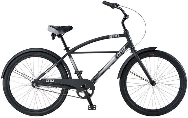Sun Bicycles Cruz 3 Color: Burnt Black