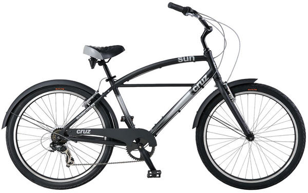 Sun Bicycles Cruz 7 Color: Burnt Black