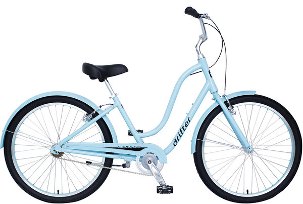 Sun Bicycles Drifter 1 Ladies' Color: Light Aqua