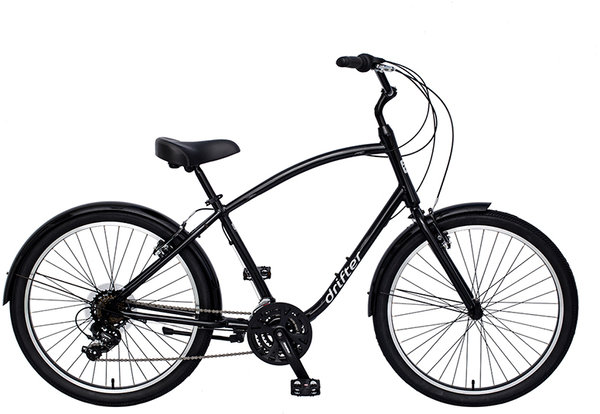 Sun Bicycles Drifter 21 Men's Color: Black Metallic