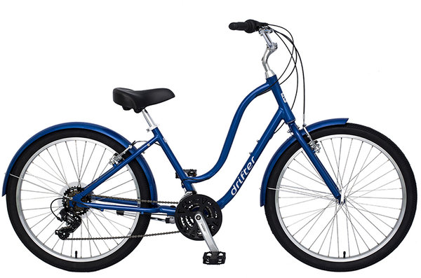 Sun Bicycles Drifter 21 Ladies' Color: Blue Pearl
