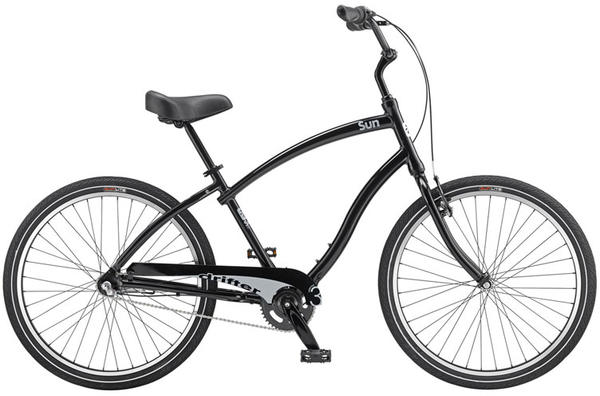 Sun Bicycles Drifter 3 Color: Black Pearl