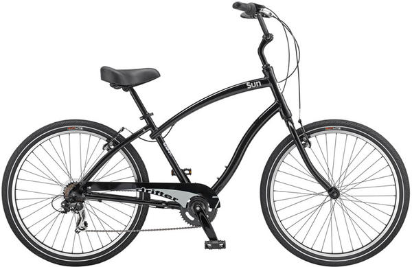 Sun Bicycles Drifter 7 Color: Black Pearl