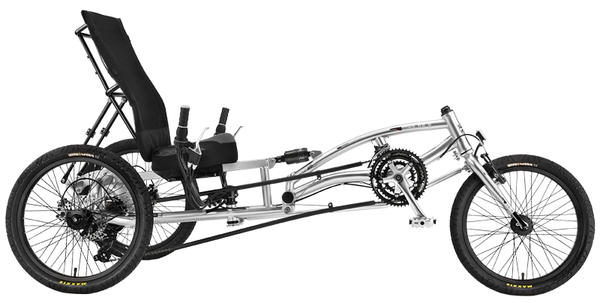 Sun Seeker EZ-3 HD USX Trike Color: Ultra Silver