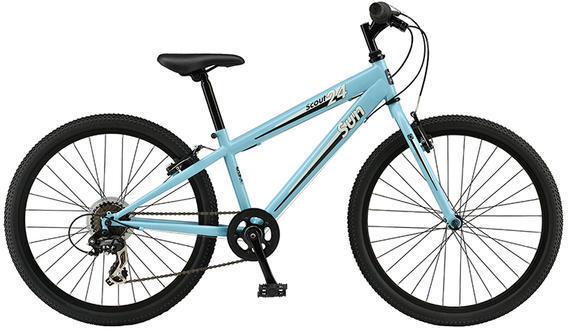 Sun Bicycles Scout 24 Color: Satin Aqua