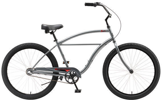 Sun Bicycles Revolutions 3-Speed Color: Graphite Metallic