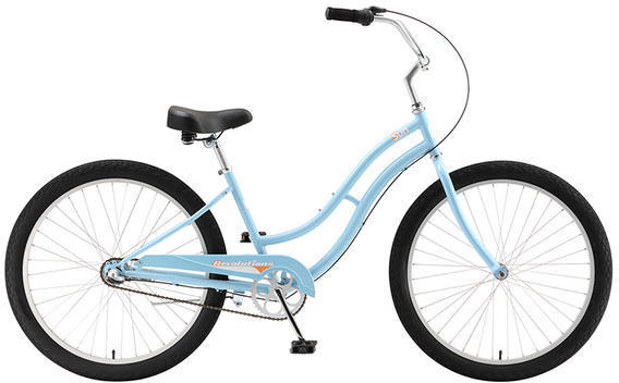 Sun Bicycles Revolutions 3-Speed Step-Through Color: Aqua