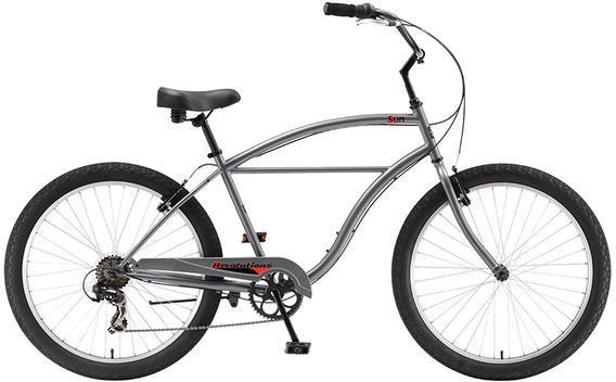 Sun Bicycles Revolutions 7 Color: Graphite Metallic