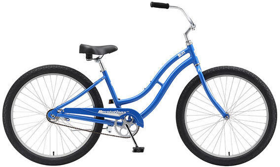 Sun Bicycles Revolutions AL Color: Blue Sparkle