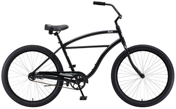 Sun Bicycles Revolutions AL Color: Metallic Black