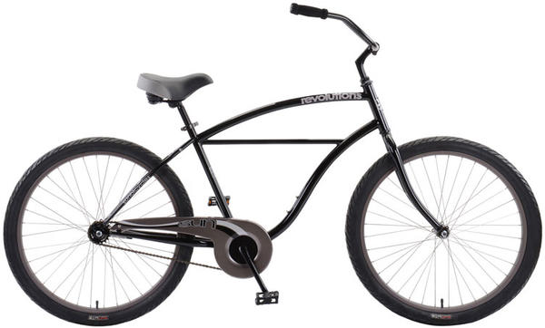 Sun Bicycles Revolutions CB-26 Color: Gloss Black