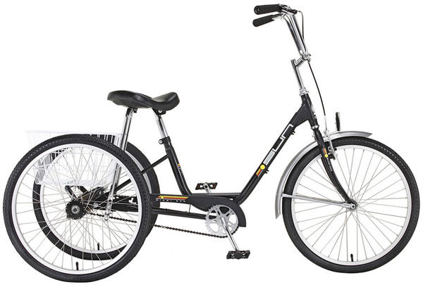 Sun Bicycles Adult Trike Rental Color: Black