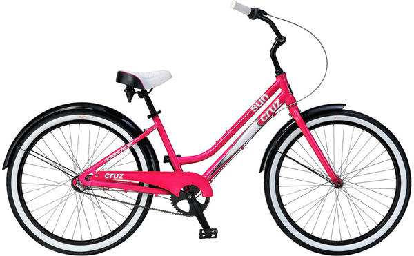 Sun Bicycles Cruz 3 - Women's Color: Raspberry Pearl Neon