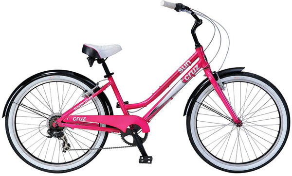 Sun Bicycles Cruz 7 - Women's Color: Raspberry Pearl Neon