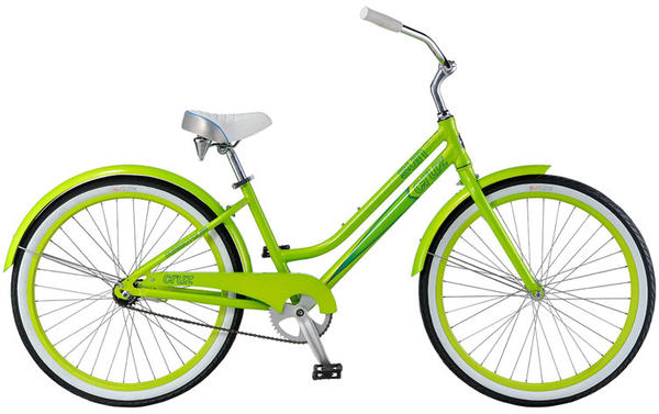 Sun Bicycles Cruz CB - Women's Color: Mean Green Metallic