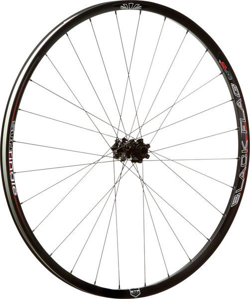 Sun Ringle Black Flag Expert AL Wheelset Axle | Color | Size: Front: 100mm / Rear: 142mm | Black | 29-inch