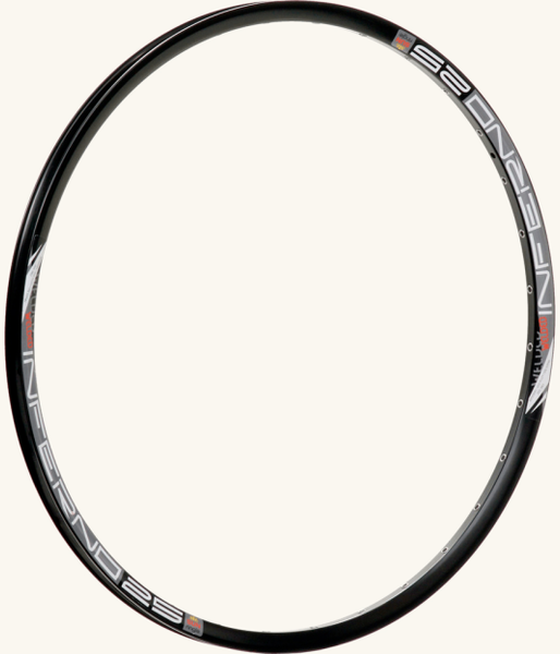 Sun Ringle Inferno 25 Rim Color: Black