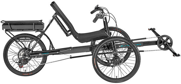 Sun Seeker E-Eco Tad Electric Assist Tadpole